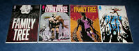 FAMILY TREE #1 2 3 4 1st print set JEFF LEMIRE PHIL HESTER iMAGE COMIC 2020 NM