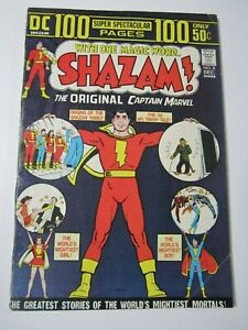 SHAZAM! Original Captain Marvel DC Comics 1st Appearance Black Adam #8, Dec 1973