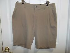 UNDER ARMOUR MENS SHORTS SIZE40- KHAKIS-BEIGE - -GREAT- Fast ship