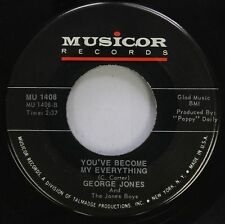 Country 45 George Jones And The Jones Boys - You'Ve Become My Everything / Tell