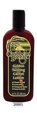Caribbean Breeze Golden Tanning Carrot Lotion Tan Bed Beach Sun SPF Zero 8.5oz.