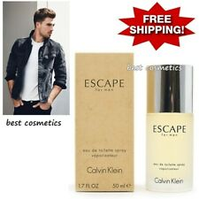 NIB Calvin Klein Escape Eau de Toilette Spray Fragrance For Men EDT 50ml 1.7oz