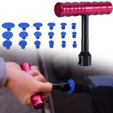Car T-Bar Hammer Puller Lifter Paintless Dent Pit Repair Tool + 18pcs Tabs