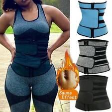 Waist Trainer Cincher Trimmer Sweat Belt Slim Body Shaper Shapewear Plus Size
