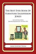 USED (LN) The Best Ever Book of Furniture Salesperson Jokes: Lots and Lots of Jo