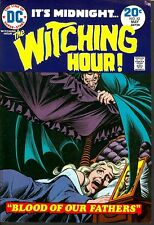 Witching Hour 42 APPROVAL COVER Vampire Art Cardy 1974 DC HORROR PROOF PIECE COA