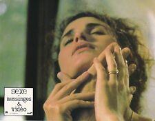 Andie MacDowell Sexe, Mensonges et Vidéo Steven Soderbergh Lobby card 1989