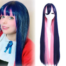 Panty & Stocking with Garterbelt Anarchy Stocking Cosplay Wig Long Straight Hair
