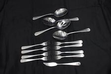 Barclay Geneve Oyster Bay Serving Pieces Seafood Forks Set of 13