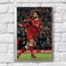Mo Mohamed Salah A4 Poster NEW FC Liverpool 11 Football #1 Home Wall Decor