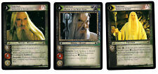 LOTR CCG TCG The Rise Of Saruman Complete non starter Set 140 cards