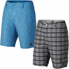 "Mid 7 to 13"" Inseam Check Shorts Board, Surf Shorts for Men"