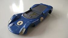 PORSCHE CARRERA 6 ORIGINAL  SCALEXTRIC TOY / MODEL SLOT RACING CAR CHASSIS ZO