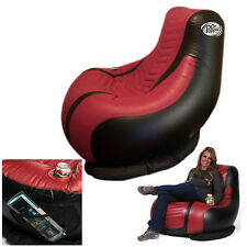 Inflatable Dr. Pepper Chair & Pump By Aerobed Outdoor Tailgating Beach Gaming