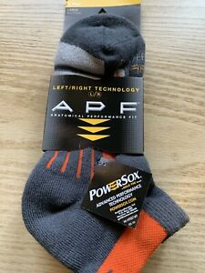 Powersox by GOLD TOE  Men's Socks - Anatomical Performance Fit - Large  - NEW!