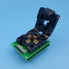 QFP44 TQFP 44 a tono DIP40 0.8 mm Convertidor de Socket de prueba Adpter IC de programación