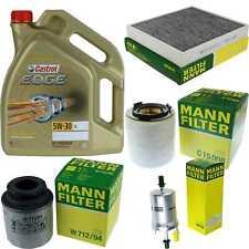 Inspektionskit Filter Castrol 5L Oil 5W30 for VW Polo 6R 6C 1.2 TSI