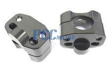 """1 1/8"""" to 7/8"""" Universal Bar Clamps Taper handlebar BLACK Dirt Bike H CL23"""