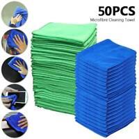 50 PCS Grands Chiffons En Microfibre Chiffon Nettoyage Voiture Détail Serviettes
