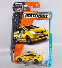 DVK34. 15/125. 2017 MBX. YELLOW Toyota Prius Taxi. New in Package!