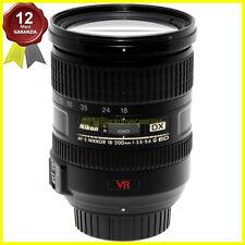 Nikon AF-S 18-200mm f/3.5-5.6 G ED VR DX obiettivo zoom per fotocamere digitali