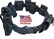 Police Officer 10 PIECE Security Guard Law Enforcement Equipment Duty Belt Gear
