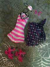 Monster High Draculaura SKULL SHORES Doll Outfit Fashion Shoes Earrings Hat Lot