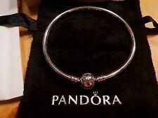 Pandora Genuine Silver Bangle Bracelet - 17cm【Presale 3 Weeks】Item#590713