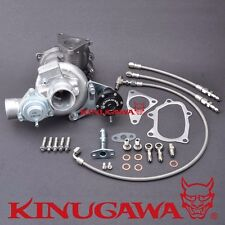 Kinugawa Turbocharger TD04L-14T 6cm w/ BOV Bolt On Subaru / Spool Faster / 250HP