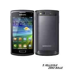 5 Pellicola per Samsung S8600 Wave 3 Protettiva Pellicole SCHERMO DISPLAY LCD