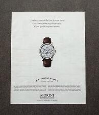 H539 - Advertising Pubblicità -2013- A.LANGE & SOHNE,SAXSONIA CALENDARIO ANNUALE