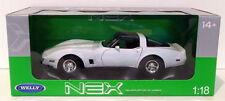 Véhicules miniatures blancs sous boîte fermée pour Chevrolet 1:18