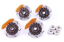 Jazrider 1/10 RC Touring Car Realistic Brake Disk Set Tamiya/Yokomo/Sakura/HPI