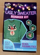 Christmas Ugly Sweater Kits You Choose By Tulip Fabric Glue & Puffy Paint 177W