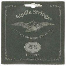 Aquila Super Nylgut Concert Ukulele String Set Low G Tuning Code 104U