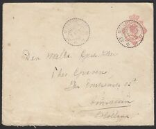 NETHERLAND INDIES, 1927. Cover H&G 35, Muntok - Amsterdam