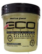Eco Styler Black Castor & Flaxseed Oil Professional Styling Gel  473ml