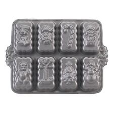 Nordic Ware 53948 Holiday Mini Loaves Loaf Pan Makes Eight (8) Cakes