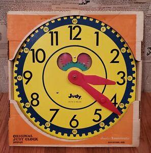 Vintage Original Judy Clock J209040 with original box and instructions