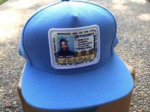 Supreme ODB Ol' Dirty Bastard Wu-Tang 5-Panel Snapback Hat Baby Blue SS19 New