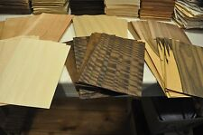"""5""""x8"""" Wood Veneer Sheets-6 Different Kind, 11 sheets of each     IC74"""