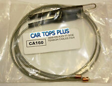 2000-06 Audi Cabriolet Side Tension Cables for Convertible Top