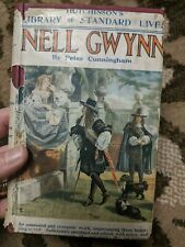 ANTIQUE Hutchinson's NELL GWYN BY PETER CUNNINGHAM HARDBACK BOOK with Jacket