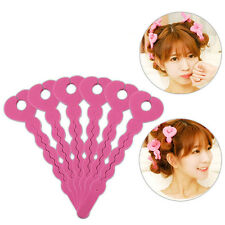 Durable 6Pcs/lot Foam Sponge Hair Curlers Tools Strip Salon Hair Style Tools