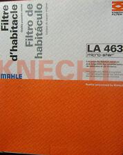 FORD: FIESTA MKV 1 & B-MAX 2008-16 (tutti i modelli) Filtro Antipolline/Cabina MAHLE LA463