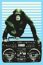 Steez : Boombox and Monkey - Maxi Poster 61cm x 91.5cm (new & sealed)