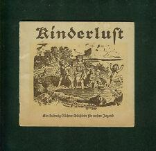 Kinderlust Ein Ludwig-Richter-Büchlein für unsere Jugend 1946 Zeichnungen Bilder