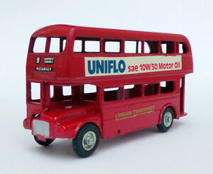 Budgie Appx 10cm Long Diecast 236 - Routemaster Bus - London Transport