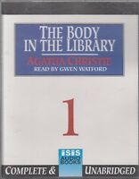 Agatha Christie The Body In The Library 6 Cassette Audio Book Unabridged