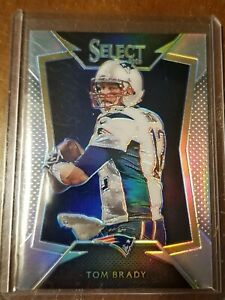 2014 Panini Select Silver Prizm Tom Brady SSP Rare Patriots Buccaneers